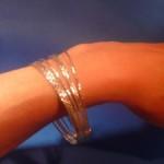 7 in 1 zilveren armbanden